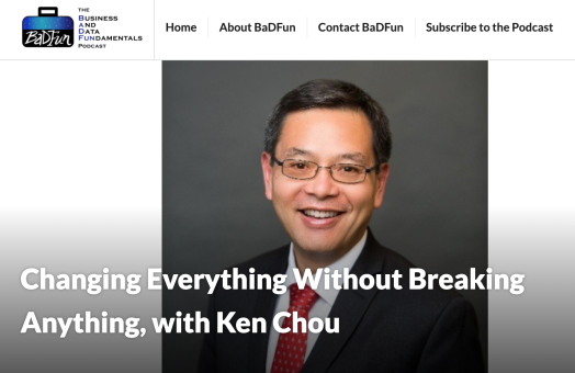 Ken Chou podcast photo